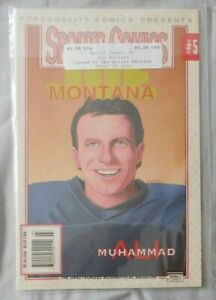 1992 Personality Comics Presents Sports Comics #5 Joe Montana Sealed