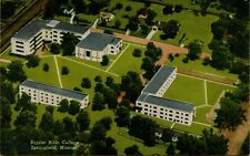 VTG Air Aerial Sky View Baptist Bible College in Springfield Missouri Postcard