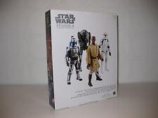 Star Wars - Episode 2 Digital Commemorative Saga Collection Hasbro 4 Figuren