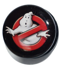 GHOSTBUSTERS PLUG ACRYLIC SCREW FIT FLESH TUNNEL EAR STRETCHER 6MM - 25MM