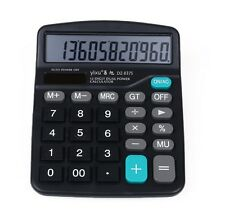 Solar Power Powered Battery Digit Calculator Desktop Jumbo Large Buttons Hot