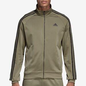 Adidas (Brand New) Men's Green Essentials Track Jacket Size S