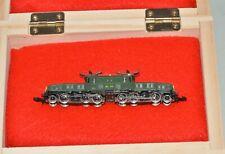 Z Scale Marklin Swiss SBB 13302 Green Crocodile Locomotive