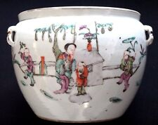 Ancienne soupière Qing Chine porcelaine Old chinese ceramic tureen bowl mark XIX