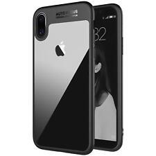 Handy Hülle für iPhone X Schutz Tasche Bumper Case Transparent Cover Schutzhülle