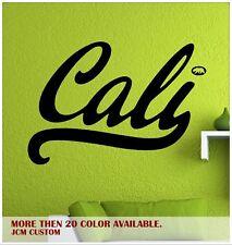 "Cali Life California Republic Cali Sign Removable Wall Vinyl Decal 32"" X 22"""