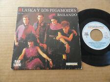 """DISQUE 45T DE ALASKA Y LOS PEGAMOIDES  """" BAILANDO """""""