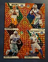 2020 Mosaic Football Orange Reactive Parallels with Rookies and Legends You Pick