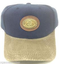 NHL New York Islanders Vintage Metal Medallion Leather Buckle Strap Cap Hat NEW!