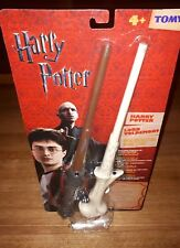 HARRY POTTER - TOMY INFRA-RED BATTLING WANDS LORD VOLDEMORT & HARRY POTTER 2 PC.