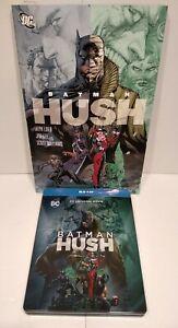 Lot Blu Ray Steelbook BATMAN HUSH - Region B + BD Comics US - Comme neuf