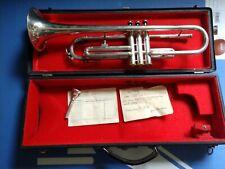 Trompete Silber Jazz VICKERS LONDON Trumpet Silver Monke Köln 1952