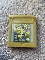 Pokemon: Gold Version (Game Boy Color, 2000) USA Tested
