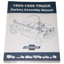 1955 1956 1957 1958 1959 Factory Assembly Manual Chevy GMC Truck  55 56 57 58 59