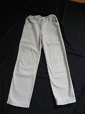 pantalon jean toile beige OXBOW  14 ans coupe droite