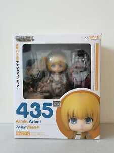 Nendoroid 435 Armin Arlert Attack On Titan / Shingeki No Kyojin Anime Figure