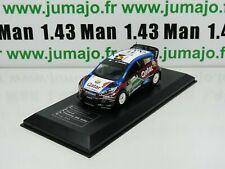 RD19B voiture 1/43 IXO Direkt Rallye FORD FIESTA RS WRC Italy 2013 Th.NEUVILLE