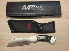 MTech USA MT-20-82BK Fixed Blade Knife w/ nylon sheath