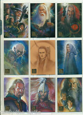 Lord of the Rings Masterpieces Series 2 Card Set of 90 Cards