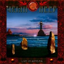 Uriah Heep - Live In Armenia (Live Recording) (2xCD+DVD Box Set) SEALED Digipak
