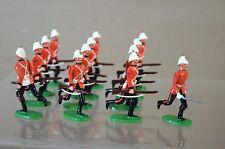 BRITISH BULLDOG SOLDIERS ZULU WAR ROYAL MARINES RUNNING at the TRAIL 1879 oh