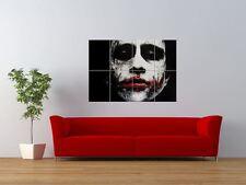 WM JOKER HEATH LEDGER BATMAN cattivo GIGANTE art print poster pannello nor0568