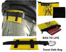 BAG TO LIFE Brieftasche TRAVEL SAFE BAG Geldbeutel Reisegeldbeutel Portemonnaie