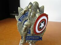 NYPD New York City Police Department Captain America Challenge Coin #9542