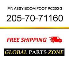 205-70-71160 - PIN ASSY, BOOM FOOT PC200-3 2057071160 fits KOMATSU