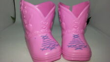 Baby Doll shoes- Pink Boots For Little Mommy doll 0066
