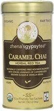 Caramel Chai Red Tea, Zhena's Gypsy Tea, 22 tea bag