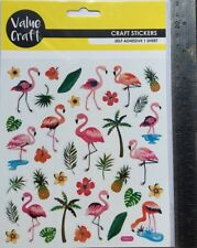 Stickers - Flamingos - 40 Pieces  -  New & Sealed