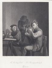 Il club del fumo, A.H.Payne, 1850 acquaforte