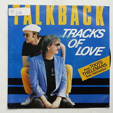 TALKBACK Tracks of love Avec TOOTS THIELEMANS 248926 7 BO FILM Une femme ou deux