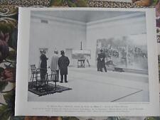 1899 Zeitungsdruck 3 / Berlin von Kossak Atelier Schloss Monjibou 2