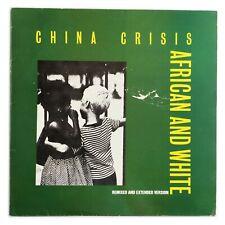 "China Crisis - African & White - 12"" Vinyl Record - INEV 01112"