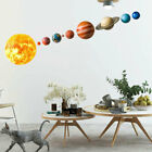 1pcs Solar System Planets Wall Sticker For Kids Room Home Decoration Wall Pm Sk