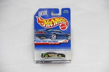 1998 Hot Wheels First Editions Mustang Cobra #665 - Black Paint - 18 Of 40 - New