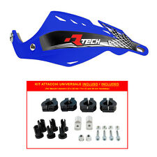 PARAMANI RACETECH GLADIATOR ALU BLU + KIT MONTAGGIO (Handguards + Fitting Kit)