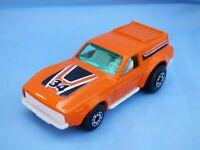 Vintage 1975 Matchbox Superfast No 34 Vantastic Orange Diecast Car Toy Collectib