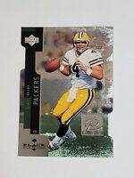 Brett Favre Packers 1998 Black Diamond Premium Cut