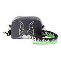Disney Maleficent 2 Maleficent Character Face Shoulder Bag With Flaming