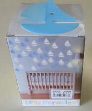 Tiny Miracles M106500 Baby Nursery Wall Decor - 40 Peices White & Blue Sailboat