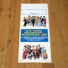 UN SORRISO UNO SCHIAFFO UN BACIO IN BOCCA locandina poster Pozzetto AF5