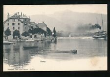 Switzerland VEVEY Steamer c1900/20s? PPC