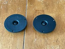 Vintage Matched Pair VIFA D19TD-5 Tweeters Pair 8 ohms made in Denmark