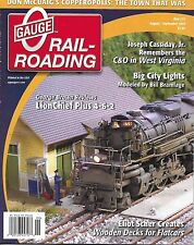 O Gauge Railroading magazine Lion Chief train C&O West Virginia Flatcar decks