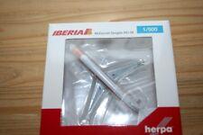 "Herpa 531429 - 1/500 Iberia McDonnell Douglas md-88 - EC-FGM ""Torre de Hercules"""