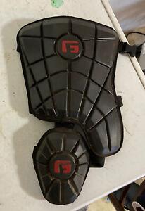 G-Form Baseball Left Handed Batter Leg Guard Black