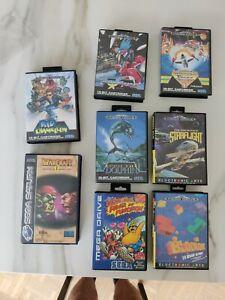 Sega Mega Drive And Saturn VGC Mint